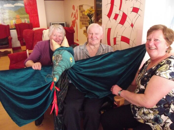 Daily Life at Home Crafts - Camelot Care, Somerset